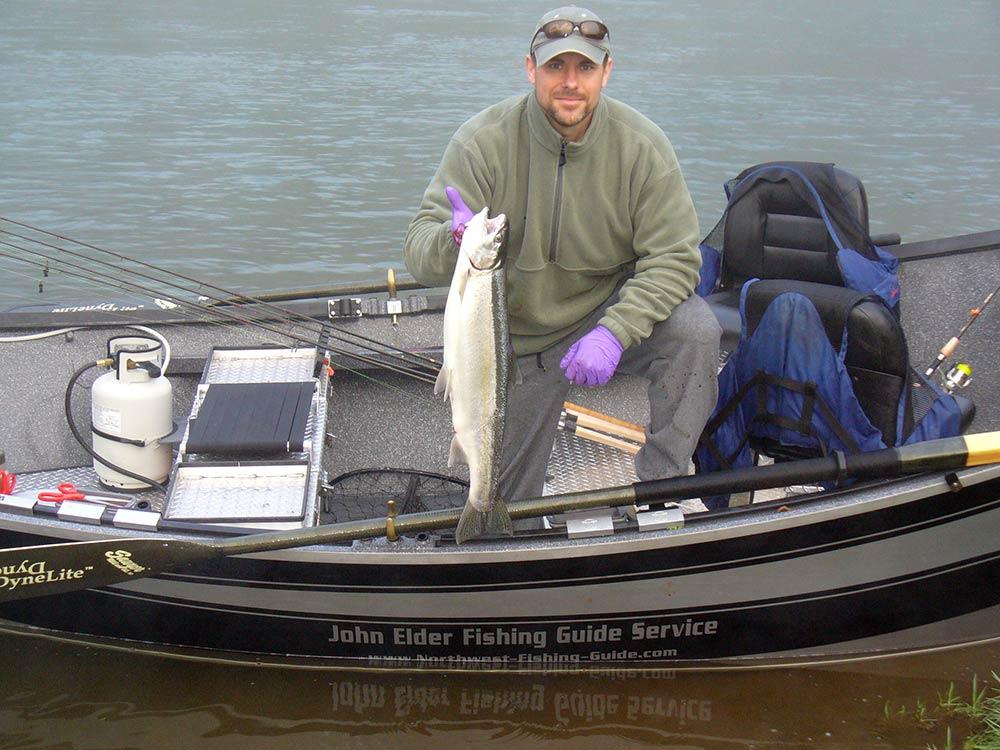 Siletz River Steelhead – April 22, 2012