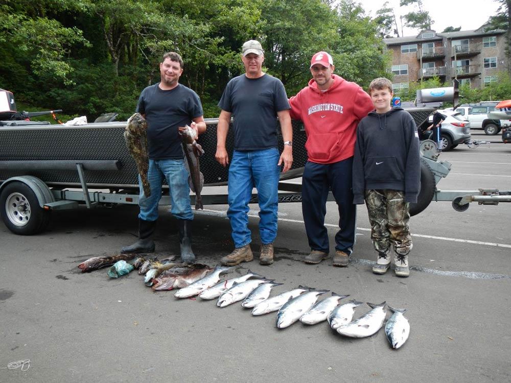 Coho Salmon & Rock Fish, July 12, 2014