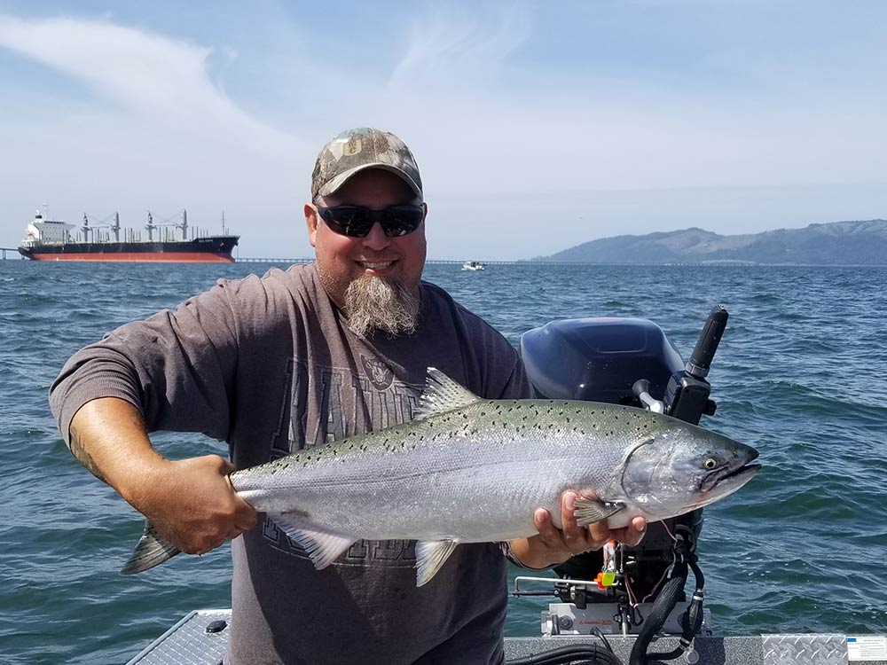 Columbia River Buoy 10: August 23, 2019