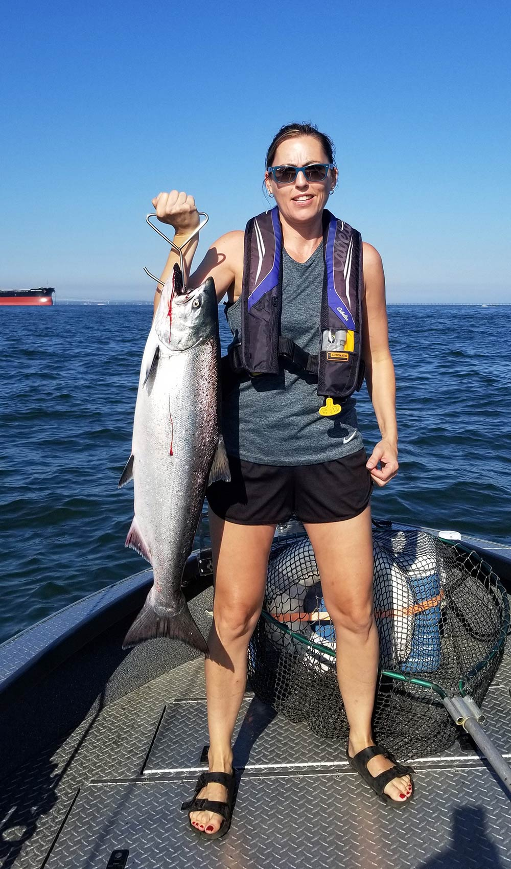 Fall Chinook, Columbia River Buoy 10, Opener Weekend: August 14, 2020