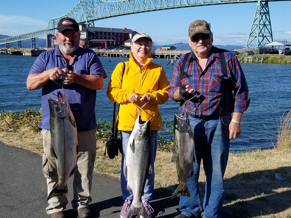 Fall Chinook, Columbia River Buoy 10: August 22, 2020