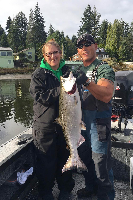 Fall Chinook: October 7-8, 2017