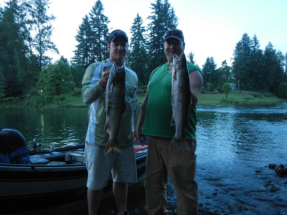 Summer Steelhead & Spring Chinook, June 5, 2013