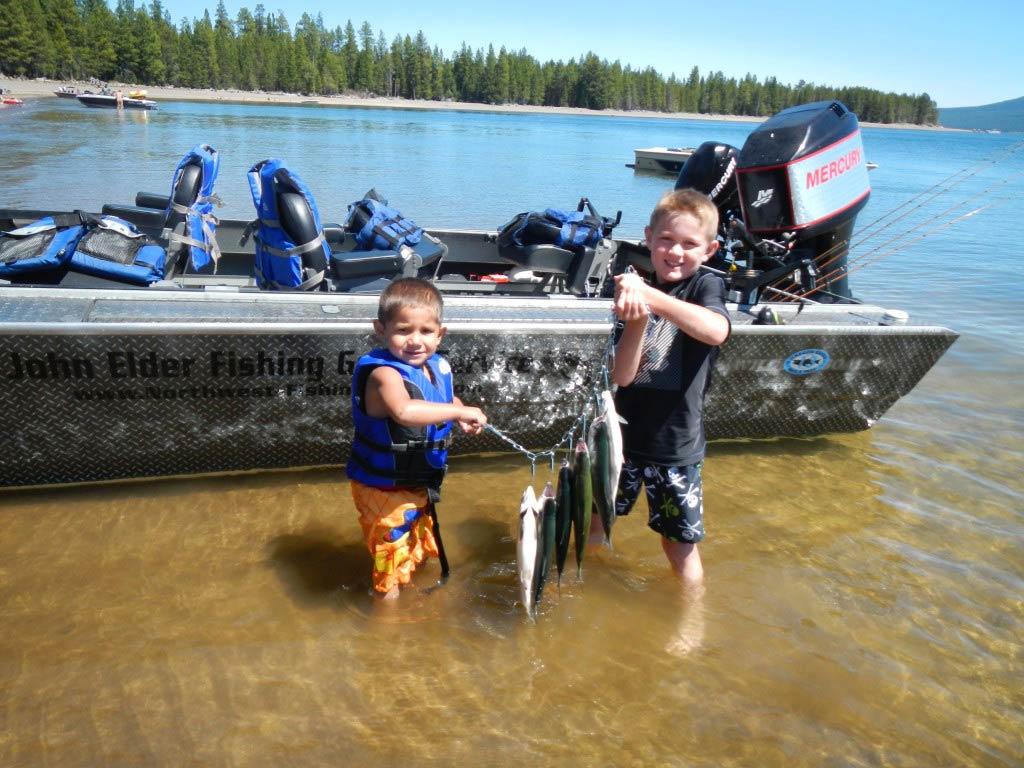Wickiup Reservoir, July 5, 2013
