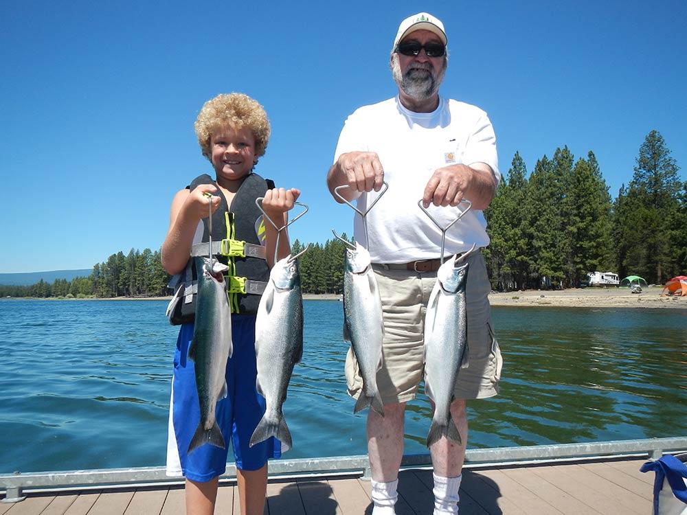 Wickiup Reservoir: July 5, 2017