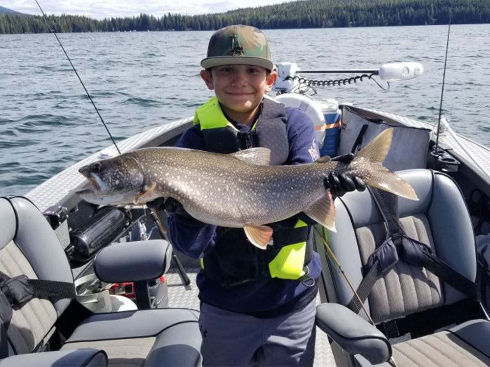 Lake Fishing Guided Trips with John Elder Fishing Guide Service